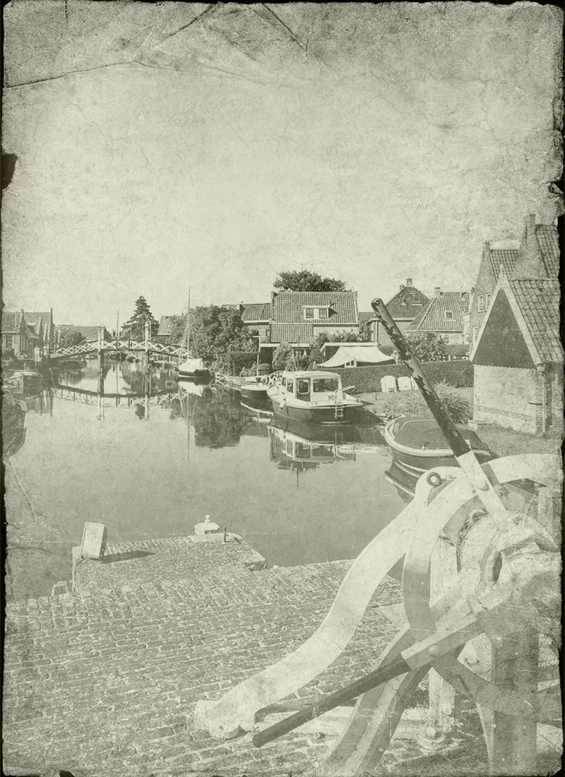 Old picture Hindeloopen